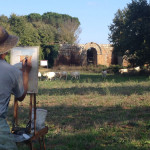 6. Painting the Ancient Gate of Faleri Novi