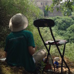 Painting the Sangallo Fortress Today
